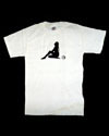 Mens White Silhouette t-shirt